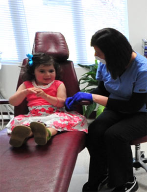First Dental Visit for Child